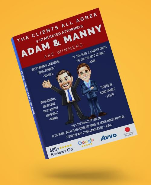 Free Client Story Booklet Takes You Inside Rossen Law Firm's Clients' Experience With Adam & Manny